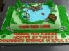 Charlotte Stevens' Thin Red Line Cake