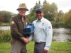 Ssgt Malla accepting his runner up prize