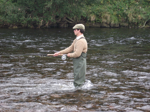 A day's fishing at Park Beat, Aberdeenshire Dee