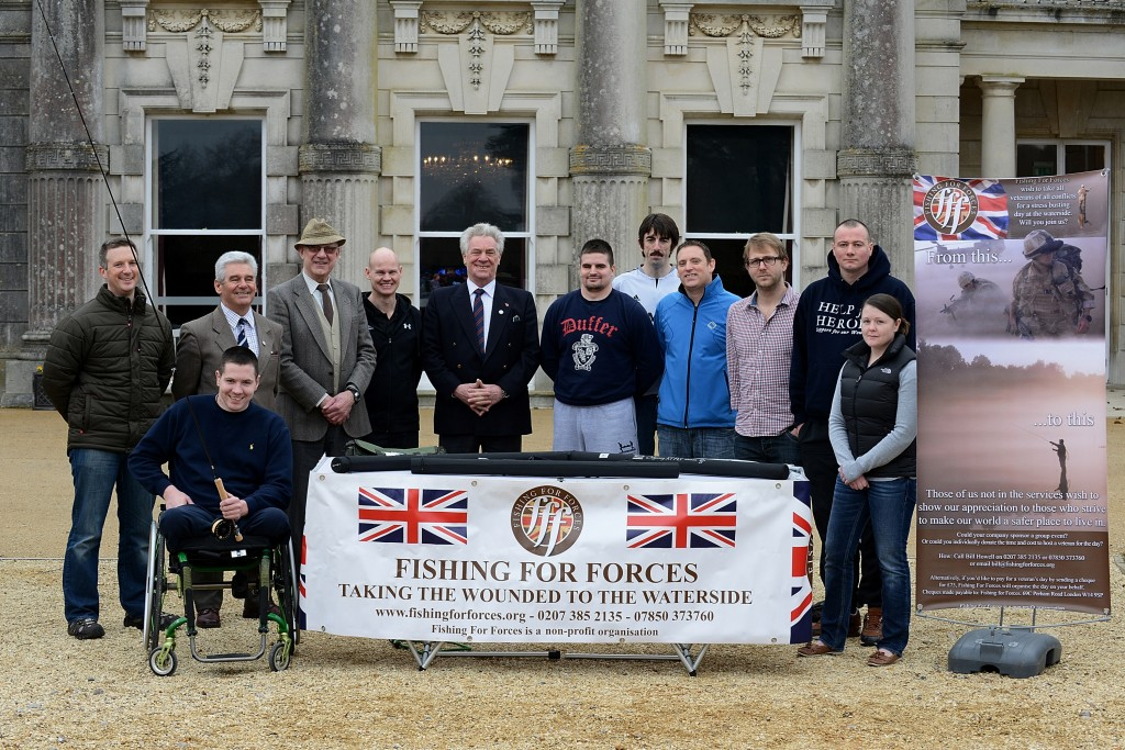 Fishing for Forces at Tedworth House